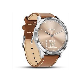 Garmin Unisex - vivomove HR Premium Silver-Gold - 010-01850-AA