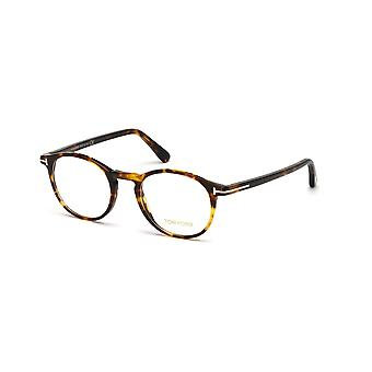 توم فورد TF5294 52A نظارات هافانا الداكنة
