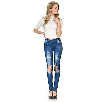 Sweet look premium edition women's jeans - push up - style ch134h-r