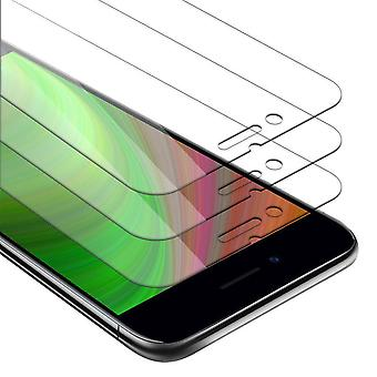 Cadorabo 3x Tank Foil for Apple iPhone 6 / iPhone 6S - Protective Film in KRISTALL KLAR - 3 Pack Tempered Display Protective Glass in 9H Hardness with 3D Touch Compatibility