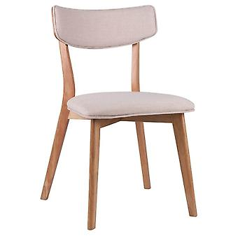 Wellindal Wood Chair Upholstered Anais (Furniture , Chairs , Chairs)