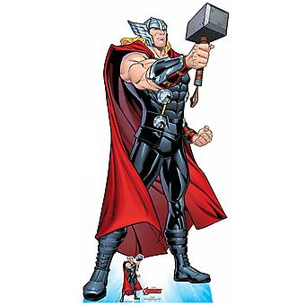 Thor Mjolnir's Might Hammer Pose Official Marvel Cardboard Cutout / Standee