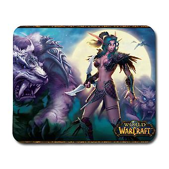 WOW Night Elf Mouse Pad