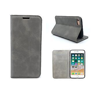 FONU Slim Boekmodel Hoesje iPhone 8 / 7 / SE (2020) - Grijs