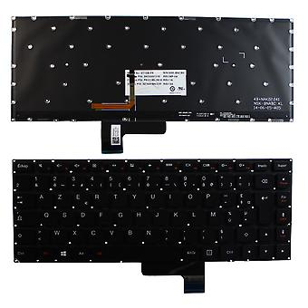 Lenovo Yoga 2 13 Inch Backlit Black Windows 8 French Layout Replacement Laptop Keyboard