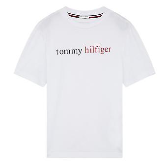 Tommy Hilfiger Boys Tommy Remix Logo T-Shirt - White