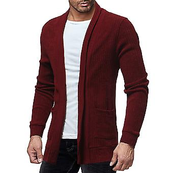 Cardigan Cloudstyle masculine mi Long tricot pull doux