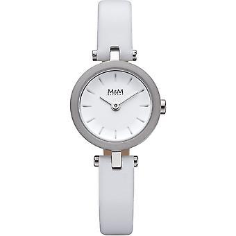 M&M Alemania M11945-722 Línea círculo Damas Reloj