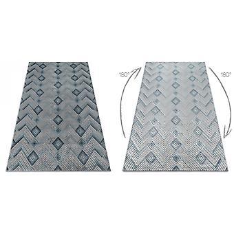 Tappeto SIERRA G5015 Spina di aringa Flat tessuto blu