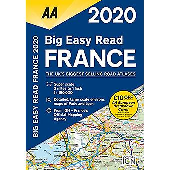 AA Big Easy Read France 2020 - 9780749581374 Book