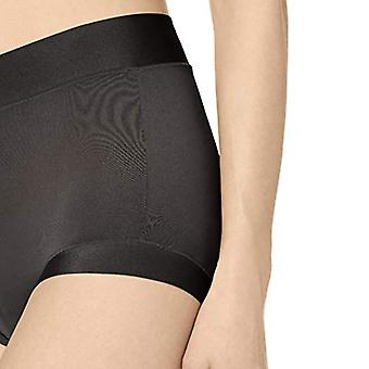 Warner's Women's Easy Does It Brief Panty, Rich Black, M/L