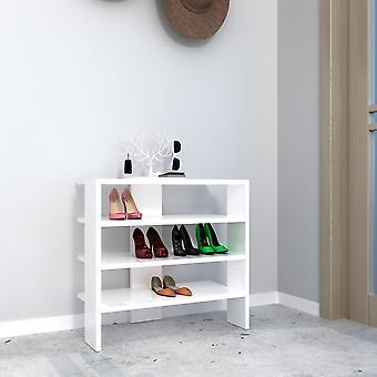Hvid farve Mix sko i Melaminic Chip, PVC 63.6x31,8x60 cm