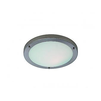 Ceiling Lamp 60w Rondo, Brushed Steel