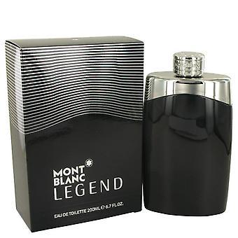 Montblanc Legend Eau De Toilette Spray By Mont Blanc 6.7 oz Eau De Toilette Spray