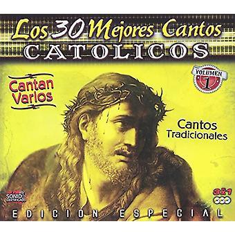 Vários artistas-los 30 Mejores cantos Catholicos: Vol. 1 [CD] importação EUA