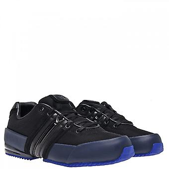 Y-3 Black/blue Sprint Trainers