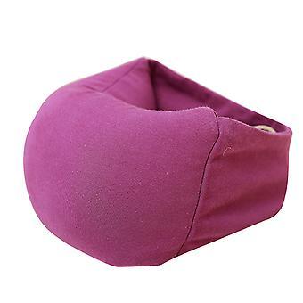 YANGFAN Travel Sleep Eye Mask Travel Pillow Ultra Soft Comfortable
