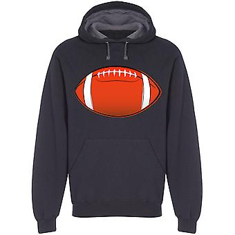 Football Graphic Hoodie Men's -Image by Shutterstock