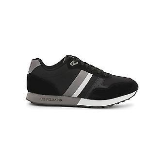U.S. Polo Assn. - Shoes - Sneakers - FLASH4088S9_TS1_BLK - Men - Schwartz - EU 44