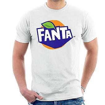 T-shirt dos homens do logotipo de Fanta 2016