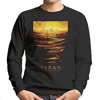 NASA Titan viaggi interplanetari Poster felpa