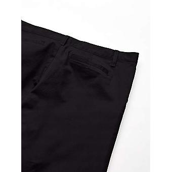 Essentials Girl's Plus Uniform Chino Pants, Zwart, 10(P)