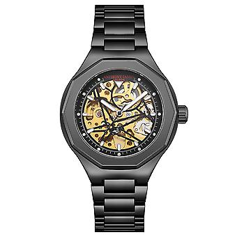 Hand Assembled Anthony James Limited Edition Sports Skeleton Black - 5 Year Warranty
