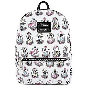 Loungefly X Disney Princess Aop Mini Backpack