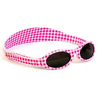 Sunglasses Junior white/pink plaid 0-2 years
