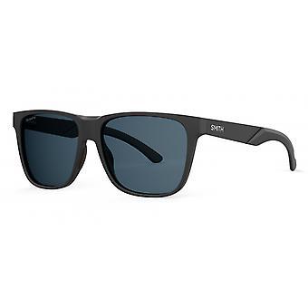 النظارات الشمسية Unisex Lowdown الصلب XL الاستقطاب غير لامع الأسود / الرمادي