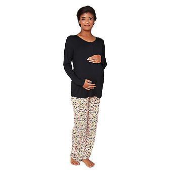 Magnetic Me™ Modal Woman's Magnetic Maternity & Nursing 2 pc. PJ Set