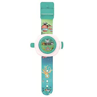 KaKBeir Octonauts Kids Toy Children Small Gift Children's Cartoon Watch Projection Electronic Watch Boys and Girls Toys (watch)