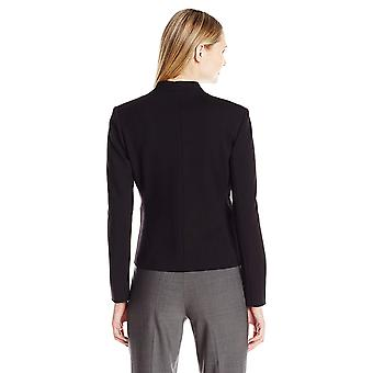 ELLEN TRACY Femme-apos;s Open Front Jacket, El/Black, 12