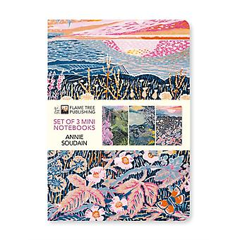 Annie Soudain Mini Notebook Collection by Created by Flame Tree Studio