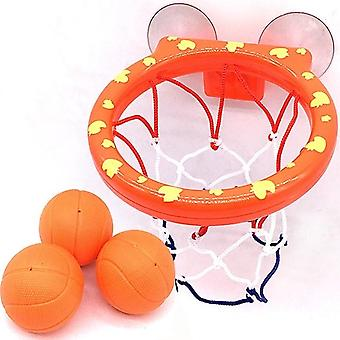 Basketball Hoop Bath Toy On Suckers Set For Child Kids, Jeu en plein air