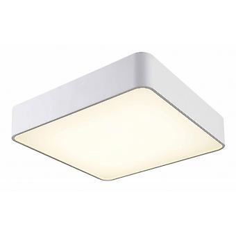 Mantra Cumbuco Flush 40cm Square Led White