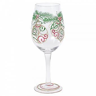 Ornament Wine Glass