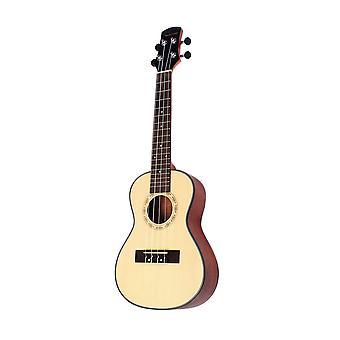 24-calowy świerk Ukulele Kit Gitara 4 Strunowa Gitara dla początkujących