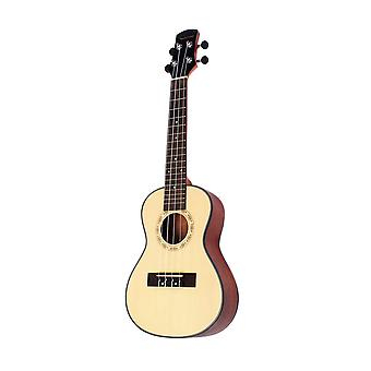 24inch Spruce Ukulele Kit Guitar 4 String Guitar for Beginners