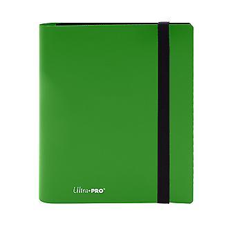 4-Pocket Eclipse Lime Green Pro-Binder