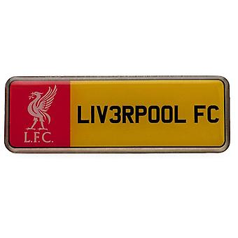 Liverpool FC License Plate Badge