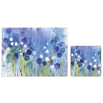 iStyle Cornflower Placemats and Coasters