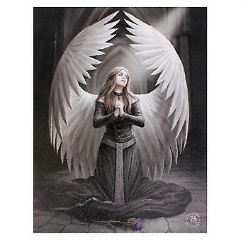 Anne Stokes Prayer For The Fallen Canvas