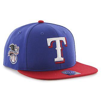 47 Brand Snapback Cap - SURE SHOT Texas Rangers royal