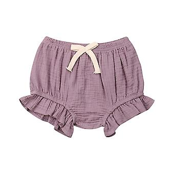 Toddler Infant Baby / Solid Pants- Shorts Bottoms Pp Bloomers Panties