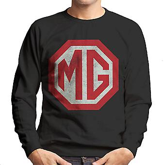 MG Classic Logo British Motor Heritage Men's Sweatshirt