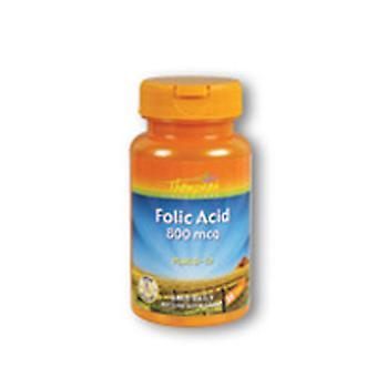 Thompson Folic Acid, 800 MCG, 30 Tabs