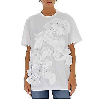 Comme Des Garçons Rft0020512 Women's White Cotton T-shirt