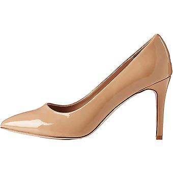 Brand - find. Wide Fit Point Court Shoe, Women's Closed Toe Heels