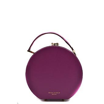 Aspinal Of London Ezbc451001 Women's Fucsia Leather Shoulder Bag